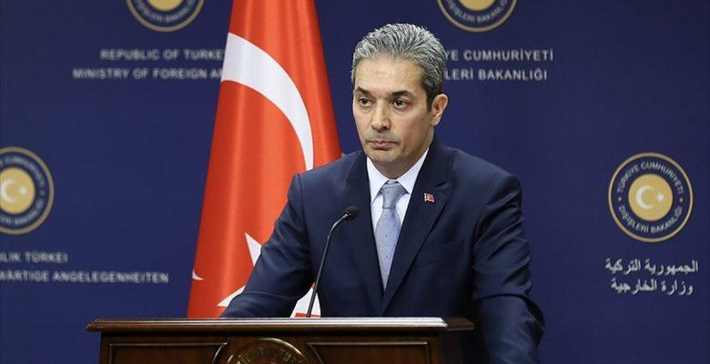 Aksoy'dan ABD'ye tepki