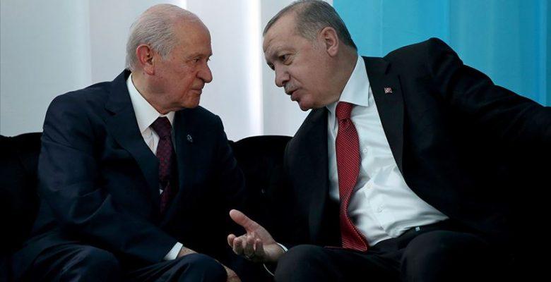 Cumhurbaşkanı Erdoğan'dan Bahçeli'ye taziye telefonu